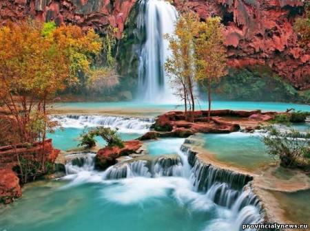 Водопад хавасу – гранд каньон