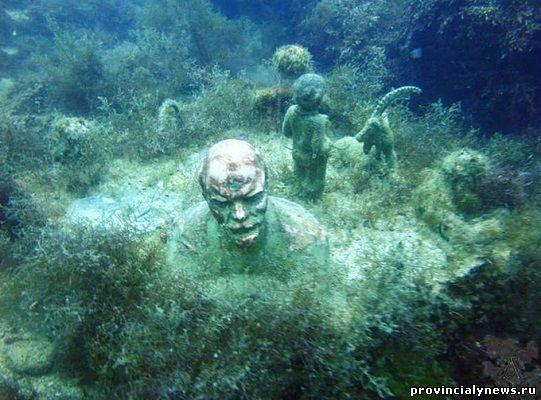 Подводный музей тарханкут крым
