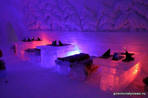 снежный отель, Финляндия