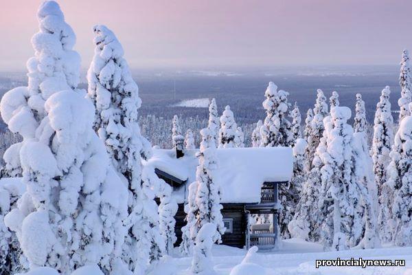 зимние финские курорты
