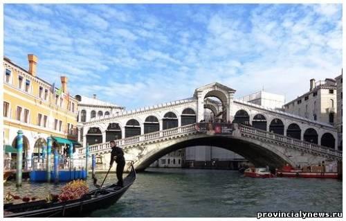 мост Риальто Италия