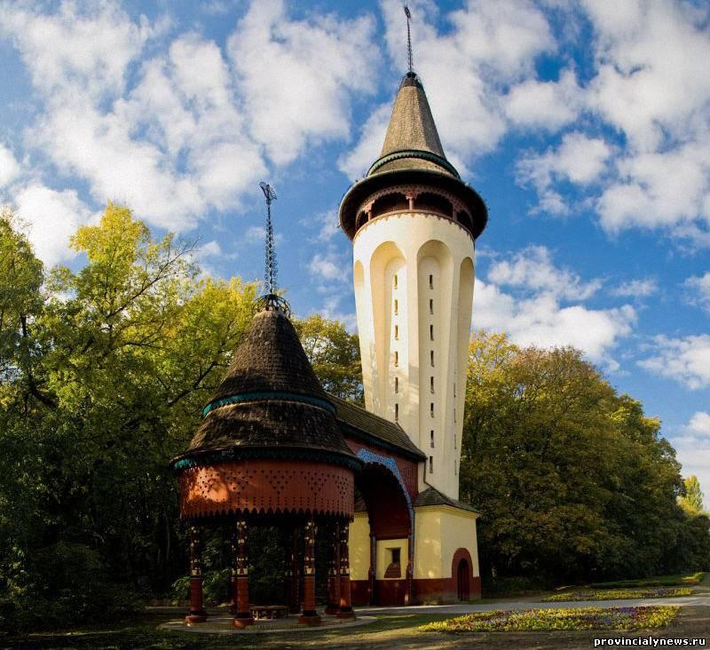 водонапорная башня в палич