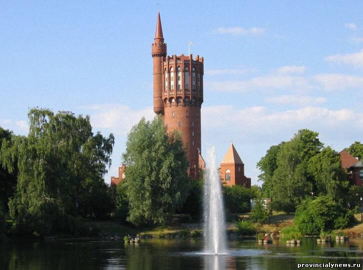 шведская водонапорная башня