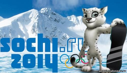 Леопард - талисман Олимпиады 2014