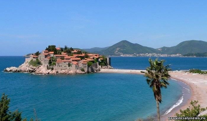 черногорский курорт свети стефан