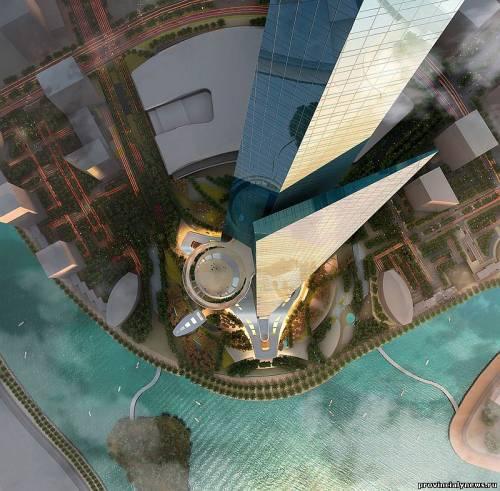 проект небоскреба Kingdom Tower